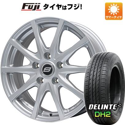 タイヤはフジ 送料無料 BRANDLE ブランドル M71 6J 6.00-16 DELINTE デリンテ DH2(限定) 205/55R16 16インチ サマータイヤ ホイール4本セット