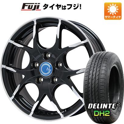 タイヤはフジ 送料無料 BRANDLE ブランドル M69B 7.5J 7.50-18 DELINTE デリンテ DH2(限定) 225/55R18 18インチ サマータイヤ ホイール4本セット