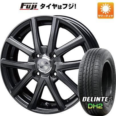 タイヤはフジ 送料無料 BLEST ブレスト ユーロマジック アスパイアFX限定 5.5J 5.50-14 DELINTE デリンテ DH2(限定) 185/65R14 14インチ サマータイヤ ホイール4本セット