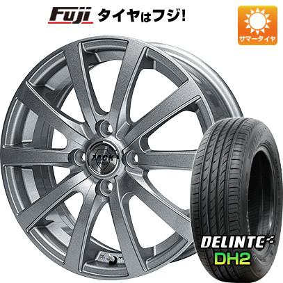 タイヤはフジ 送料無料 MONZA モンツァ ZACK JP-110 10スポーク 4.5J 4.50-15 DELINTE デリンテ DH2(限定) 165/50R15 15インチ サマータイヤ ホイール4本セット