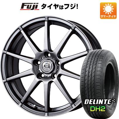 タイヤはフジ 送料無料 TECHNOPIA テクノピア アフロディーテ HS 7.5J 7.50-18 DELINTE デリンテ DH2(限定) 235/50R18 18インチ サマータイヤ ホイール4本セット