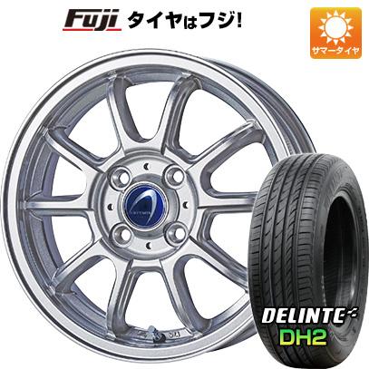 タイヤはフジ 送料無料 TECHNOPIA テクノピア アルテミス LSW 5.5J 5.50-14 DELINTE デリンテ DH2(限定) 175/65R14 14インチ サマータイヤ ホイール4本セット