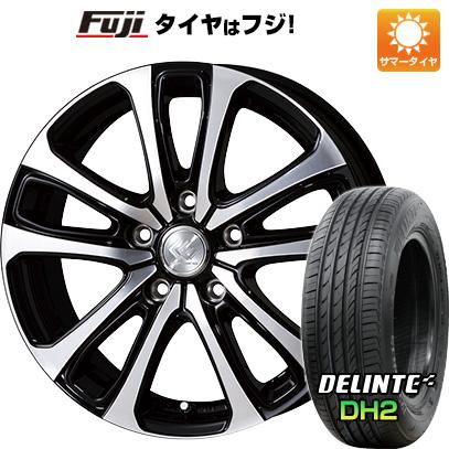 タイヤはフジ 送料無料 TOPY トピー セレブロ LF5 6.5J 6.50-16 DELINTE デリンテ DH2(限定) 205/60R16 16インチ サマータイヤ ホイール4本セット