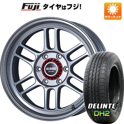 タイヤはフジ 送料無料 ハイエース200系 ENKEI エンケイ RPT1 8J 8.00-18 DELINTE デリンテ DH2(限定) 225/50R18 18インチ サマータイヤ ホイール4本セット