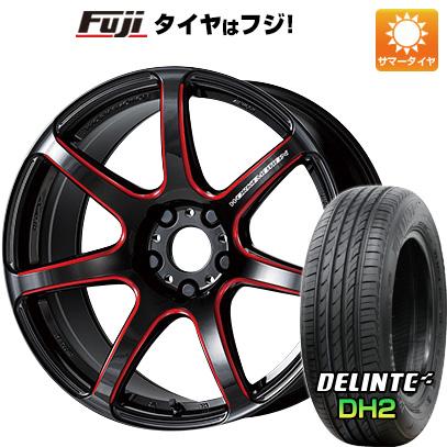 タイヤはフジ 送料無料 WORK ワーク エモーション T7R 5J 5.00-15 DELINTE デリンテ DH2(限定) 165/50R15 15インチ サマータイヤ ホイール4本セット