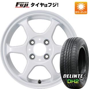 タイヤはフジ 送料無料 カジュアルセット タイプL 2. 4.5J 4.50-15 DELINTE デリンテ DH2(限定) 165/50R15 15インチ サマータイヤ ホイール4本セット