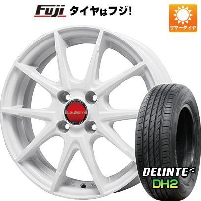 タイヤはフジ 送料無料 BIGWAY ビッグウエイ LEYBAHN WGS 5.5J 5.50-15 DELINTE デリンテ DH2(限定) 175/65R15 15インチ サマータイヤ ホイール4本セット