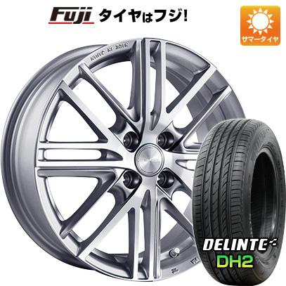 タイヤはフジ 送料無料 BRIDGESTONE ブリヂストン エコフォルム CRS/161 5J 5.00-16 DELINTE デリンテ DH2(限定) 165/45R16 16インチ サマータイヤ ホイール4本セット