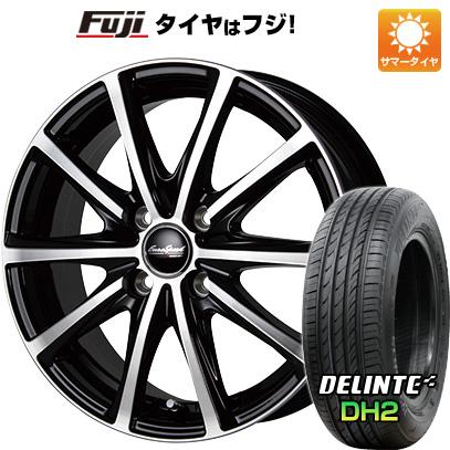 タイヤはフジ 送料無料 MID ユーロスピード V25 6.5J 6.50-16 DELINTE デリンテ DH2(限定) 215/65R16 16インチ サマータイヤ ホイール4本セット