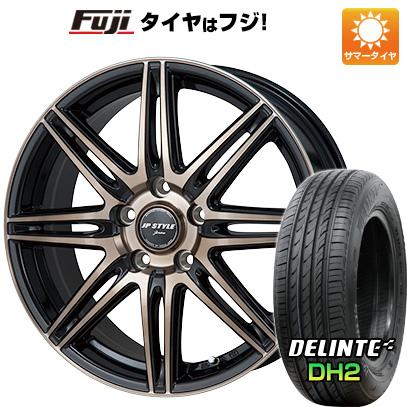 タイヤはフジ 送料無料 MONZA モンツァ JPスタイルジェリバ 6.5J 6.50-16 DELINTE デリンテ DH2(限定) 205/55R16 16インチ サマータイヤ ホイール4本セット