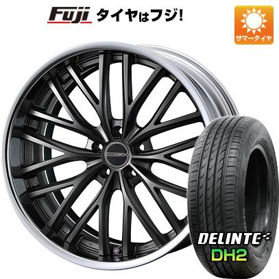 タイヤはフジ 送料無料 WEDS ウェッズ マーベリック 910M 7.5J 7.50-18 DELINTE デリンテ DH2(限定) 235/45R18 18インチ サマータイヤ ホイール4本セット