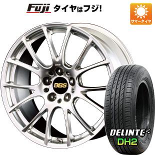 タイヤはフジ 送料無料 BBS JAPAN BBS RE-V 7.5J 7.50-18 DELINTE デリンテ DH2(限定) 225/40R18 18インチ サマータイヤ ホイール4本セット