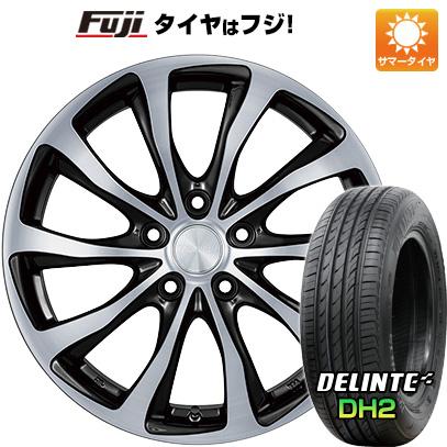 タイヤはフジ 送料無料 BRIDGESTONE ブリヂストン バルミナ T10 7J 7.00-17 DELINTE デリンテ DH2(限定) 215/50R17 17インチ サマータイヤ ホイール4本セット
