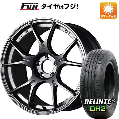 【送料無料】  SSR GTX02 5J 5.00-16 DELINTE デリンテ DH2(限定) 165/45R16 16インチ サマータイヤ ホイール4本セット