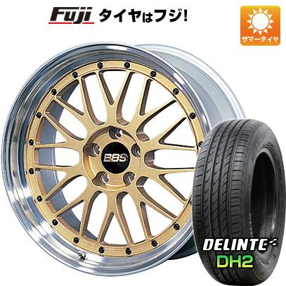 【取付対象】【送料無料】 215/35R18 18インチ BBS JAPAN BBS LM 7.5J 7.50-18 DELINTE デリンテ DH2(限定) サマータイヤ ホイール4本セット