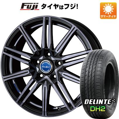 タイヤはフジ 送料無料 BLEST ブレスト ユーロスポーツ レグルス A1 5J 5.00-15 DELINTE デリンテ DH2(限定) 165/55R15 15インチ サマータイヤ ホイール4本セット