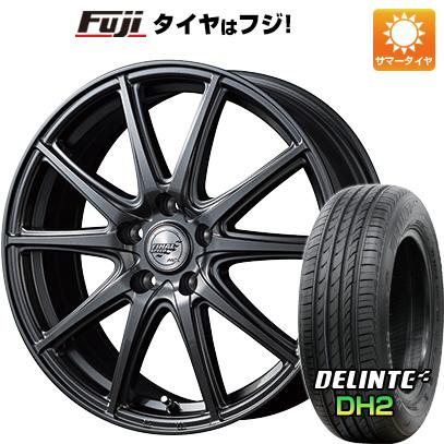 タイヤはフジ 送料無料 MID ファイナルスピード GR-ガンマ 5.5J 5.50-15 DELINTE デリンテ DH2(限定) 175/65R15 15インチ サマータイヤ ホイール4本セット