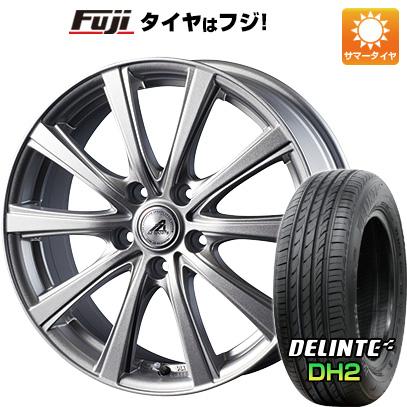 タイヤはフジ 送料無料 プリウス50系専用 INTER MILANO インターミラノ AZ-SPORTS YL-10 トヨタ車専用 6.5J 6.50-15 DELINTE デリンテ DH2(限定) 195/65R15 15インチ サマータイヤ ホイール4本セット