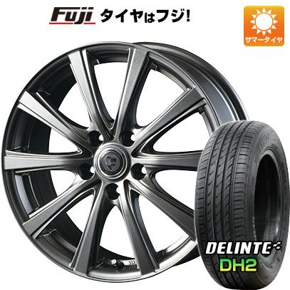 タイヤはフジ 送料無料 INTER MILANO インターミラノ クレール DG10 6.5J 6.50-16 DELINTE デリンテ DH2(限定) 205/55R16 16インチ サマータイヤ ホイール4本セット