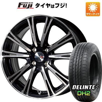 タイヤはフジ 送料無料 LEHRMEISTER レアマイスター ディチョット 5.5J 5.50-17 DELINTE デリンテ DH2(限定) 165/40R17 17インチ サマータイヤ ホイール4本セット