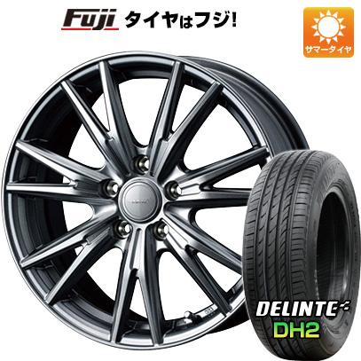 タイヤはフジ 送料無料 WEDS ウェッズ ヴェルバ ケヴィン 6.5J 6.50-16 DELINTE デリンテ DH2(限定) 205/60R16 16インチ サマータイヤ ホイール4本セット