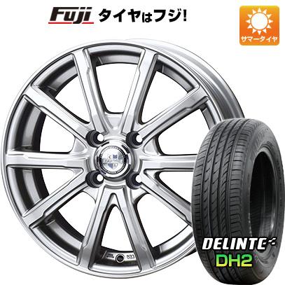 タイヤはフジ 送料無料 BIGWAY ビッグウエイ EXPLODE DM-10 5.5J 5.50-15 DELINTE デリンテ DH2(限定) 185/60R15 15インチ サマータイヤ ホイール4本セット