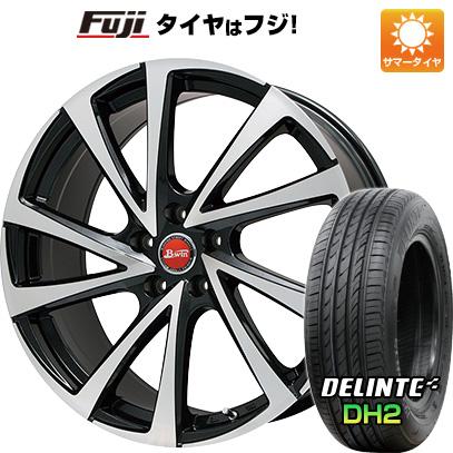 タイヤはフジ 送料無料 BIGWAY ビッグウエイ B-WIN ヴェノーザ10 7J 7.00-16 DELINTE デリンテ DH2(限定) 215/60R16 16インチ サマータイヤ ホイール4本セット