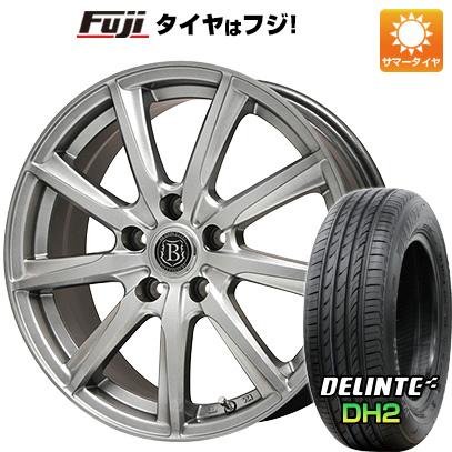 タイヤはフジ 送料無料 BRANDLE ブランドル E05 7.5J 7.50-18 DELINTE デリンテ DH2(限定) 225/55R18 18インチ サマータイヤ ホイール4本セット