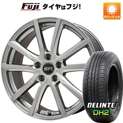 タイヤはフジ 送料無料 BRANDLE ブランドル N52 6J 6.00-15 DELINTE デリンテ DH2(限定) 205/65R15 15インチ サマータイヤ ホイール4本セット