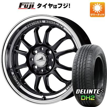タイヤはフジ 送料無料 5ZIGEN ゴジゲン パンテーラ バージョンM6 5J 5.00-15 DELINTE デリンテ DH2(限定) 165/50R15 15インチ サマータイヤ ホイール4本セット