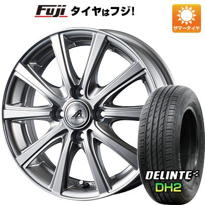 タイヤはフジ 送料無料 INTER MILANO インターミラノ AZ-SPORTS YL-10 5.5J 5.50-15 DELINTE デリンテ DH2(限定) 185/60R15 15インチ サマータイヤ ホイール4本セット
