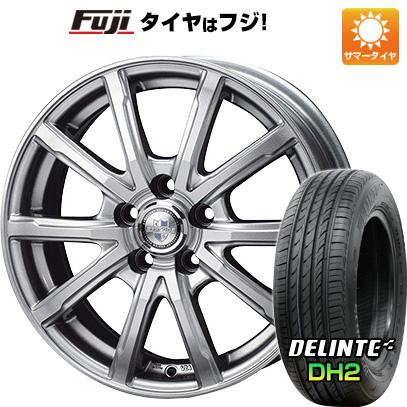 タイヤはフジ 送料無料 シエンタ 5穴/100 BIGWAY ビッグウエイ EXPLODE DM-10 6J 6.00-15 DELINTE デリンテ DH2(限定) 185/60R15 15インチ サマータイヤ ホイール4本セット