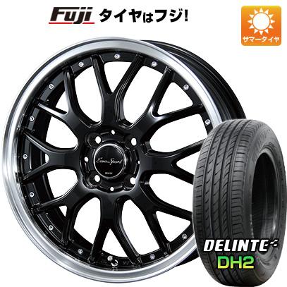タイヤはフジ 送料無料 BLEST ブレスト ユーロスポーツ タイプ815 6J 6.00-16 DELINTE デリンテ DH2(限定) 205/50R16 16インチ サマータイヤ ホイール4本セット