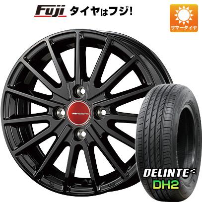 タイヤはフジ 送料無料 KOSEI コーセイ エアベルグ ゼノン 4.5J 4.50-15 DELINTE デリンテ DH2(限定) 165/55R15 15インチ サマータイヤ ホイール4本セット