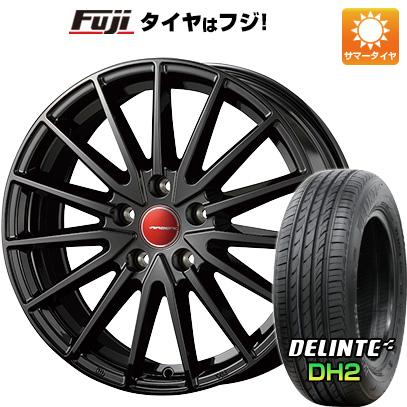 タイヤはフジ 送料無料 KOSEI コーセイ エアベルグ ゼノン 7.5J 7.50-18 DELINTE デリンテ DH2(限定) 225/55R18 18インチ サマータイヤ ホイール4本セット