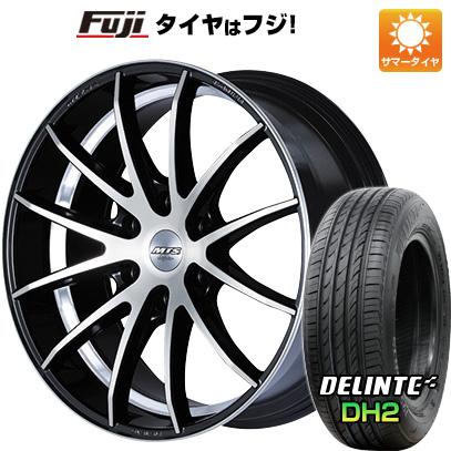 タイヤはフジ 送料無料 ハイエース200系 M-TECHNO エムテクノ M.T.S. TA-12HA 8J 8.00-18 DELINTE デリンテ DH2(限定) 225/50R18 18インチ サマータイヤ ホイール4本セット
