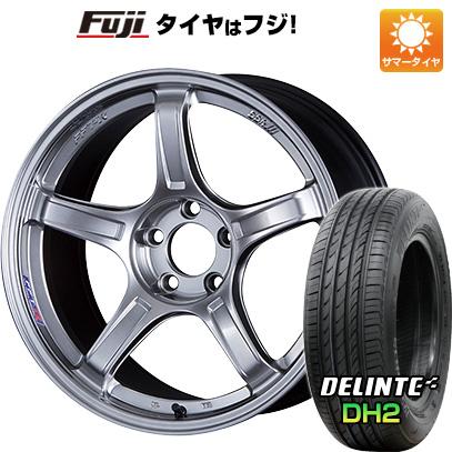 タイヤはフジ 送料無料 SSR GTX03 5J 5.00-15 DELINTE デリンテ DH2(限定) 165/55R15 15インチ サマータイヤ ホイール4本セット