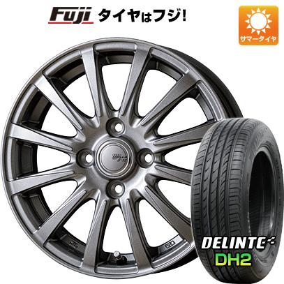 7/25はエントリーでポイント15倍 タイヤはフジ 送料無料 TOPY トピー シビラ NEXT B-12 4.5J 4.50-15 DELINTE デリンテ DH2(限定) 165/55R15 15インチ サマータイヤ ホイール4本セット