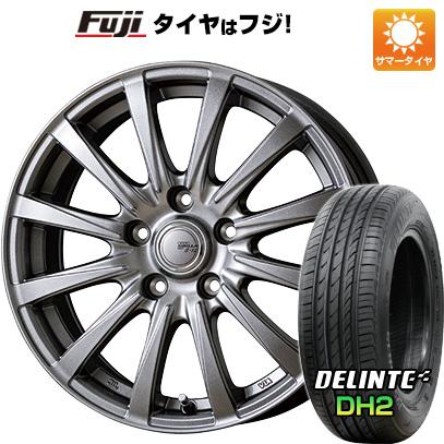タイヤはフジ 送料無料 シエンタ 5穴/100 TOPY トピー シビラ NEXT B-12 6J 6.00-15 DELINTE デリンテ DH2(限定) 185/60R15 15インチ サマータイヤ ホイール4本セット