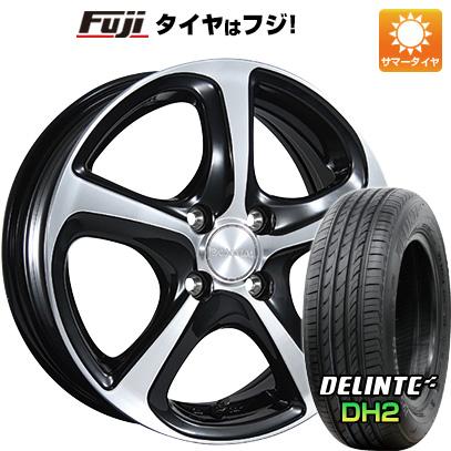 タイヤはフジ 送料無料 BRIDGESTONE ブリヂストン バルミナ Z5 6J 6.00-16 DELINTE デリンテ DH2(限定) 195/55R16 16インチ サマータイヤ ホイール4本セット