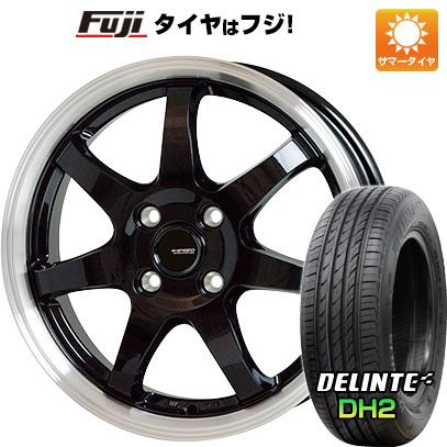 【送料無料】 205/50R16 16インチ HOT STUFF ジースピード P-03 6J 6.00-16 DELINTE デリンテ DH2(限定) サマータイヤ ホイール4本セット