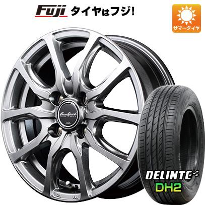 タイヤはフジ 送料無料 MID ユーロスピード G52 5.5J 5.50-15 DELINTE デリンテ DH2(限定) 175/65R15 15インチ サマータイヤ ホイール4本セット