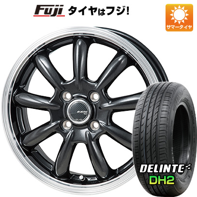 タイヤはフジ 送料無料 MONZA モンツァ JPスタイル バーニー 5.5J 5.50-15 DELINTE デリンテ DH2(限定) 185/60R15 15インチ サマータイヤ ホイール4本セット