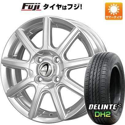タイヤはフジ 送料無料 TECHNOPIA テクノピア アルテミス NS9 5.5J 5.50-14 DELINTE デリンテ DH2(限定) 175/65R14 14インチ サマータイヤ ホイール4本セット
