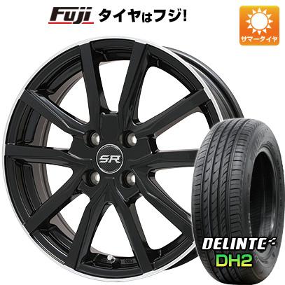 【送料無料】 195/65R15 15インチ BRANDLE ブランドル N52B 5.5J 5.50-15 DELINTE デリンテ DH2(限定) サマータイヤ ホイール4本セット