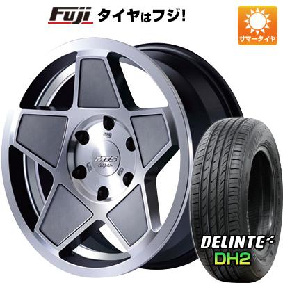 タイヤはフジ 送料無料 ハイエース200系 M-TECHNO エムテクノ M.T.S. S-インパクト限定 8J 8.00-18 DELINTE デリンテ DH2(限定) 225/50R18 18インチ サマータイヤ ホイール4本セット