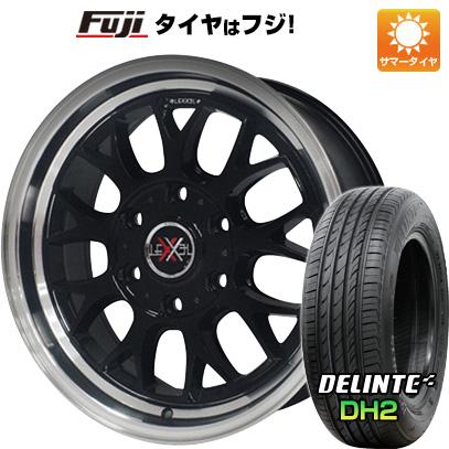 タイヤはフジ 送料無料 ハイエース200系 OFFBEAT オフビート レクセル グラミス 7.5J 7.50-18 DELINTE デリンテ DH2(限定) 225/50R18 18インチ サマータイヤ ホイール4本セット