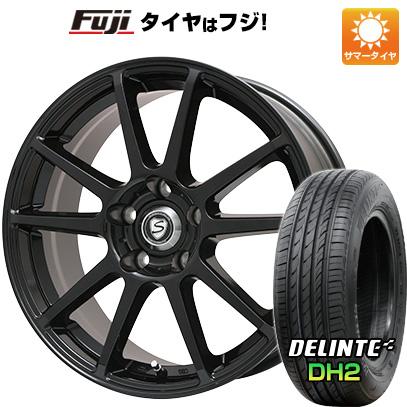 【送料無料】 205/65R16 16インチ BRANDLE ブランドル 302B 6.5J 6.50-16 DELINTE デリンテ DH2(限定) サマータイヤ ホイール4本セット