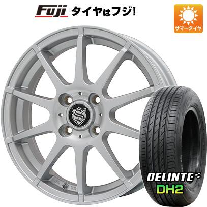 【送料無料】 165/55R15 15インチ BRANDLE ブランドル 562SS 4.5J 4.50-15 DELINTE デリンテ DH2(限定) サマータイヤ ホイール4本セット