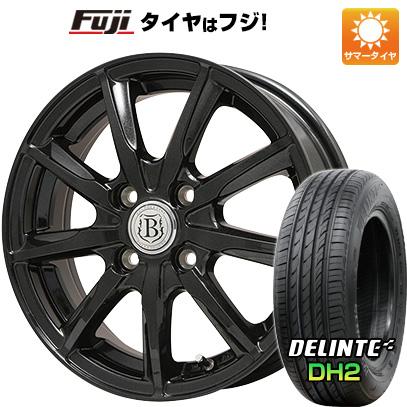 【送料無料】 195/65R15 15インチ BRANDLE ブランドル E05B 5.5J 5.50-15 DELINTE デリンテ DH2(限定) サマータイヤ ホイール4本セット